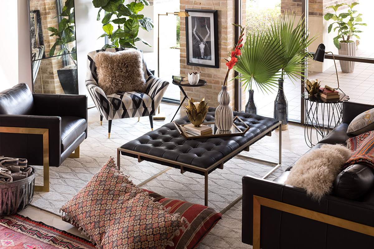 Eclectic home style with Stowers Furniture